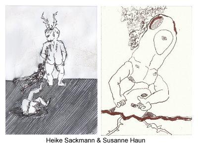 Heike Sackmann und Susanne Haun (c) Zeichnerischer Dialog