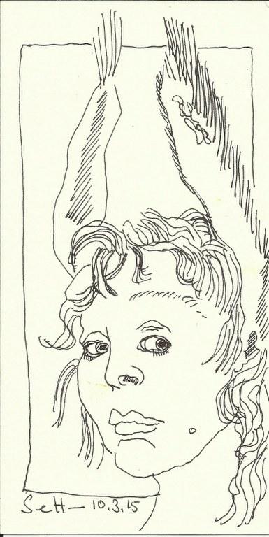 Selbst (c) Zeichnung von Susanne Haun