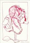 Glaub mir, jede Blume deutet (c) Zeichnung von Susanne Haun