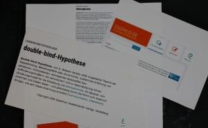 """Antwort an Jürgens """"doppelt gebunden"""" (c) Konzept von Susanne Haun"""
