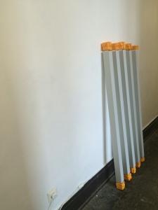 doppelt gebunden (c) Installation von Jürgen Küster