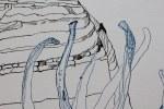 Entstehung Landschaft mit Kohlebezug (c) Zeichnung von Susanne Haun