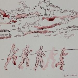 Wenn dein Fuss dort fürder schreitet (c) Zeichnung von Susanne Haun
