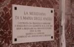 Meridian in Santa Maria degli Angeli (c) Foto von Susanne Haun