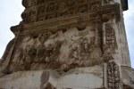 Relief der linken Innenseite des Titusbogen (c) Foto von M.Fanke