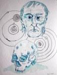 Kopernikus (c) Zeichnung von Susanne Haun