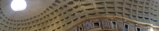 Das Innere des Patheon (c) Panorama Handy Foto von Susanne Haun