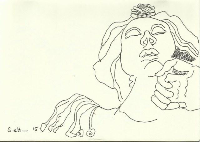 S.Maria Maggiore (c) Zeichnung von Susanne Haun 0001