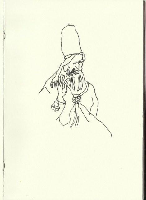 Santa Maria Maggiore - Rom (c) Zeichnung von Susanne Haun