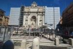 Der Trevi Brunnen im Bau (c) Foto von M.Fanke