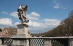 Die Brücke zur Engelsburg wird von Engeln flankiert (c) Foto von Susanne Haun