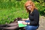 Zeichnen im Britzer Garten (c) Foto von M.Fanke