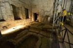 Die Räume werden abgestütz, um einen Einsturz zu verhindern (c) Foto von M.Fanke