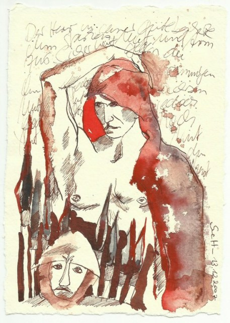 Mut (c) Zeichnung von Susanne Haun