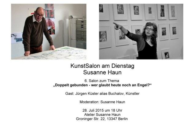 Salon Einladung Gast Jürgen