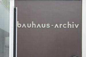 Bauhausarchiv Berlin (c) Foto von Susanne Haun