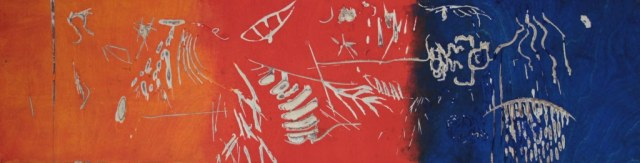 Holzdruckstock double bind (c) Foto von Susanne Haun