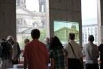 Das Berliner Stadtschloss im Rohbau beim Tag der offenen Baustelle(c) Foto von Susanne Haun