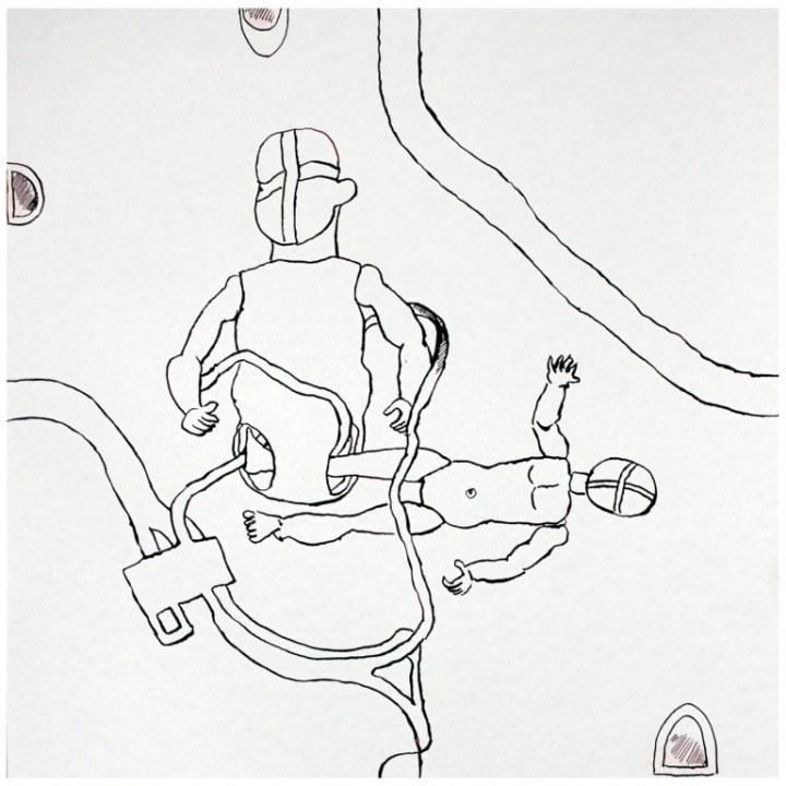 M. 1.5 (c) Zeichnung von Susanne Haun