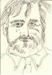 Portrait Der Vater(c) Zeichnung von Susanne Haun