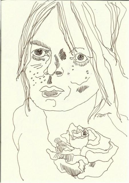 Portrait Jugend (c) Zeichnung von Susanne Haun