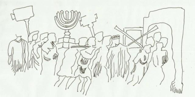 Stilisierte Beute (c) Zeichnung von Susanne Haun