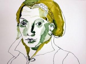 Entstehung Katharina von Bora (c) Zeichnung von Susanne Haun
