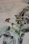Zeichnung Zwischenstand Natur (c) Leinwand von Susanne Haun
