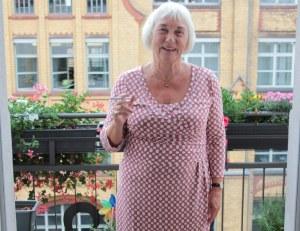 Christina Illigner beim KunstSalon am Dienstag (c) Foto von Susanne Haun