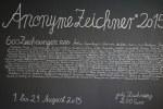 Anonyme Zeichner 2015 (c) Foto von M. Fanke
