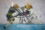 Ich überlege, ob ich eine Libelle stehenlasse (c) Foto von Susanne Haun