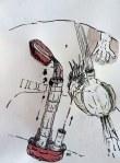 Weggegossen No. 23 a (c) Zeichnung von Jürgen Küster (1)