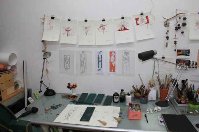 Ideensammlungen an der Wand (c) Susanne Haun
