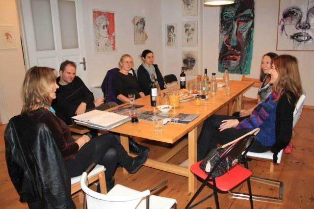 Salon am Dienstag mit Gabriele d.r. Günther (c) Foto von Susanne Haun