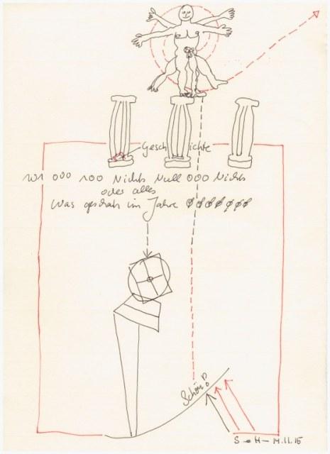 Das Jahr Null 14.11.2015 (c) Zeichnung von Susanne Haun
