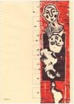 Zusammenbruch - Zusammenhang (c) Linolschnitt von Susanne Haun