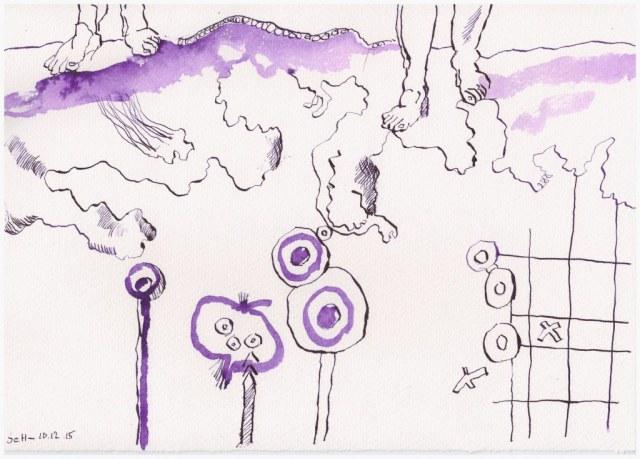#19.2 Das Jahr Null 10.12.2015 (c) Zeichnung von Susanne Haun