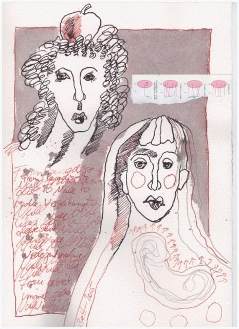 Das Jahr Null 08.12.2015 (c) Zeichnung von Susanne Haun