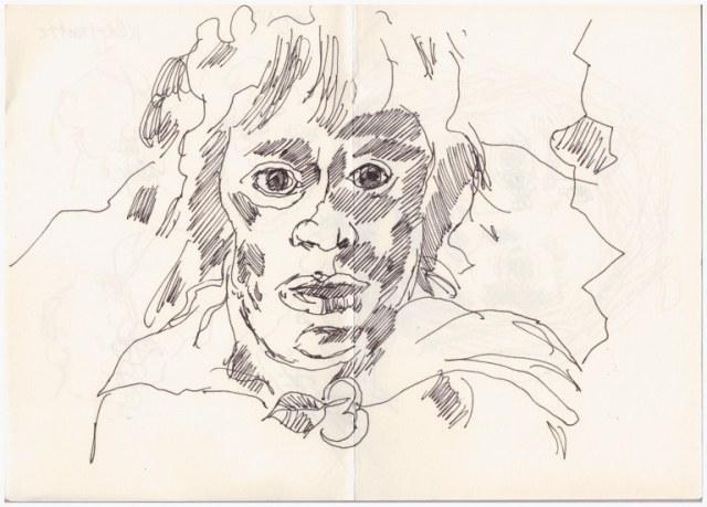 Der Herr der Ringe (c) Zeichnung von Susanne Haun(2)