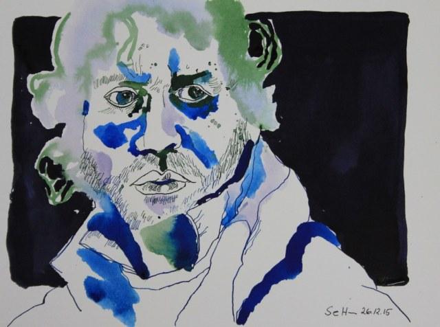 Simon Bolivar - Kampf für die Freiheit Südamerikas (c) Zeichnung von Susanne Haun