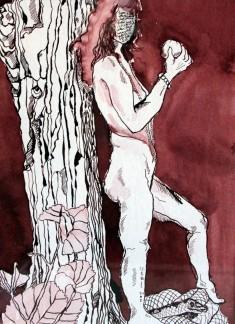 Die ewige Eva (c) Zeichnung von Susanne Haun