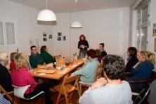 Eröffnung des 9. KunstSalons - Gast Joyce Ann Syhre (c) Foto von M.FankeEröffnung des 9. KunstSalons - Gast Joyce Ann Syhre (c) Foto von M.Fanke