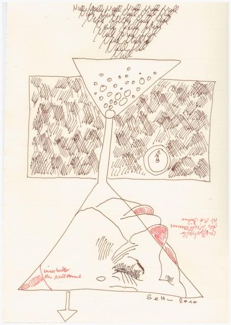 #33.2 Der Nullraum (c) Zeichnung von Susanne Haun
