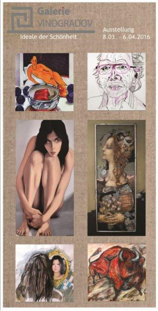 Einladung Galerie Vinogradov - Ideale der Schönheit