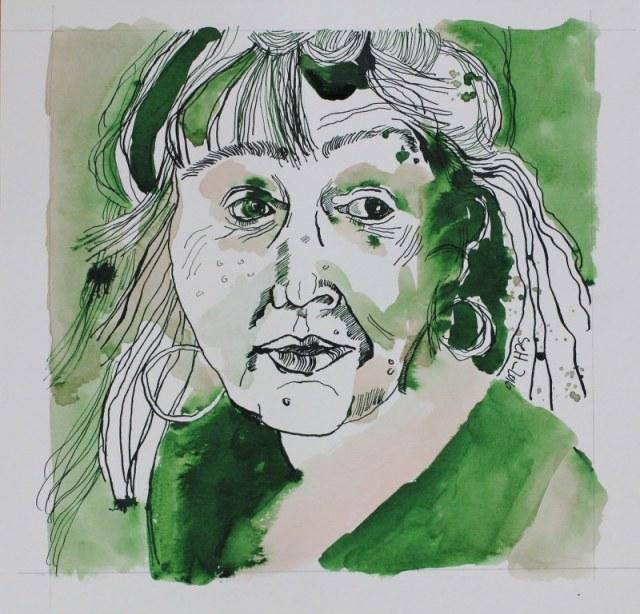 Ich (c) Zeichnung von Susanne Haun