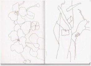 Im Regenwald (c) Zeichnung von Susanne Haun