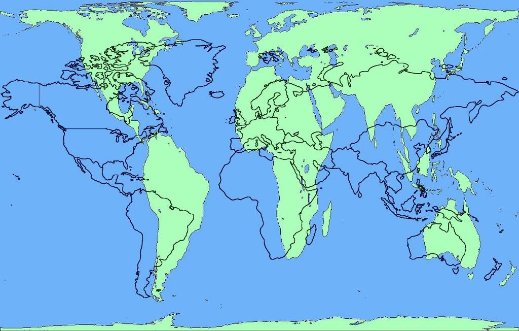 richtige weltkarte Darstellung der Weltkarte mit korrekten Proportionen | Susanne Haun richtige weltkarte