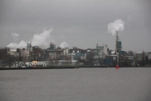 Blick von java-eiland Amsterdam (c) Foto von Susanne Haun