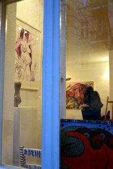 Vernissage Ideale der Schönheit in der Galerie Vinogradov (c) Foto von M.Fanke