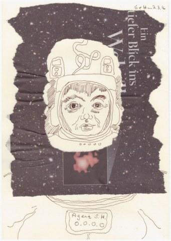 #41.1 TimeMachine - Null (c) Zeichnung von Susanne Haun